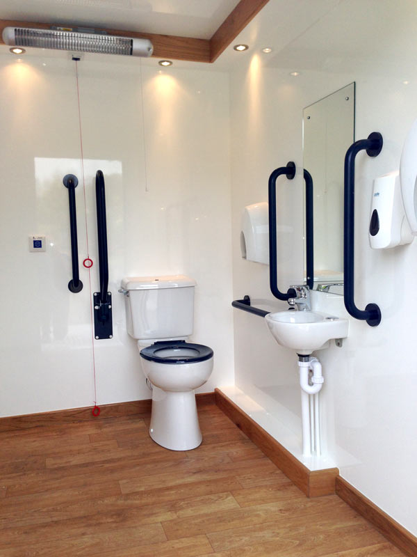 disabled loo interior