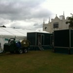 On Site Servicing 3+1 Luxury Portable Toilets in Richmond, London