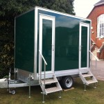 1+1 Luxury Portable Toilets at The Boat Race, London